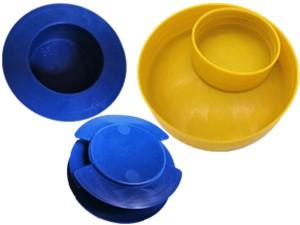 管口保护帽 管口塑料堵头 钢管保护帽 管端保护盖 塑料管堵头
