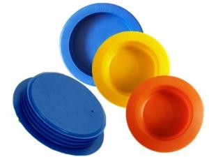 厂家供应PE燃气管防尘盖塑料管塞密封内堵管帽带有永久标识